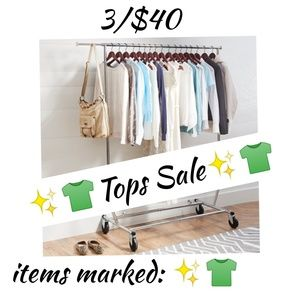 ✨👕 3/$40 spring clear out sale!